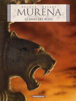 Couverture Le Sang des bêtes - Murena, tome 6