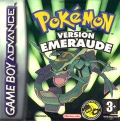 Jaquette Pokémon Emeraude
