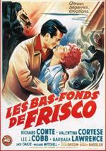 Affiche Les Bas-fonds de Frisco