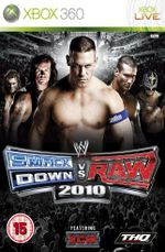 Jaquette WWE Smackdown vs Raw 2010