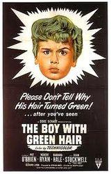 Affiche Le Garçon aux cheveux verts