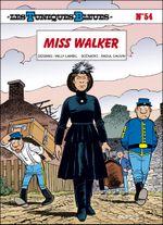 Couverture Miss Walker - Les Tuniques bleues, tome 54