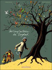 Couverture Les Cinq Conteurs de Bagdad