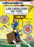 Couverture Les Cavaliers du ciel - Les Tuniques bleues, tome 8
