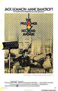 Affiche Le Prisonnier de la seconde avenue