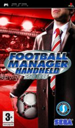 Jaquette Football Manager Handheld 2008