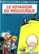 Couverture Le Voyageur du Mésozoïque - Spirou et Fantasio, tome 13