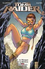 Couverture Le Masque de la Méduse - Tomb Raider, tome 1