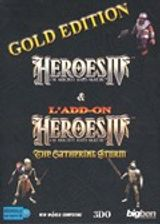 Jaquette Heroes of Might and Magic IV: Gold Edition