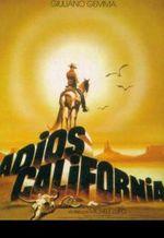 Affiche Adios California