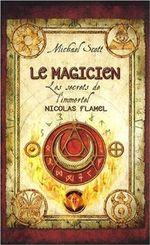 Couverture Le Magicien - Les secrets de l'immortel Nicolas Flamel, tome 2