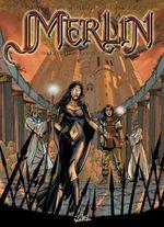 Couverture L'éveil du pouvoir - Merlin, tome 2