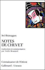 Couverture Notes de chevet