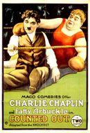 Affiche Charlot et Fatty sur le ring
