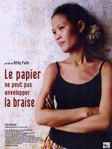 Affiche Le Papier ne peut pas envelopper la braise