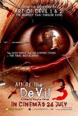 Affiche Art of the Devil 3