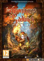 Jaquette Les Chroniques de Sadwick (The Whispered World)