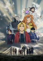 Affiche Fullmetal Alchemist : L'Étoile sacrée de Milos