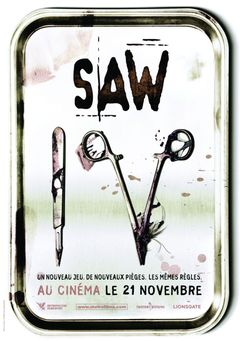 Affiche Saw IV