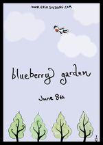 Jaquette Blueberry Garden