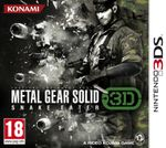 Jaquette Metal Gear Solid : Snake Eater 3D