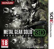 Jaquette Metal Gear Solid : Snake Eater 3D