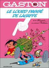 Couverture Le lourd passé de Lagaffe - Gaston (première série), tome R5