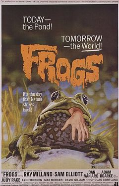 Affiche Frogs