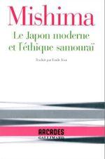 Couverture Le Japon moderne et l'éthique samouraï