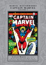 Couverture Marvel Masterworks: Captain Marvel, Volume 3