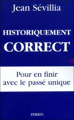 Couverture Historiquement correct