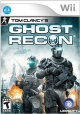 Jaquette Ghost Recon (Wii)