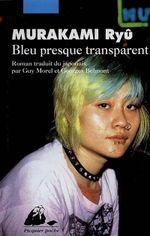 Couverture Bleu presque transparent