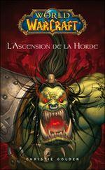 Couverture World of Warcraft : L'Ascension de la horde