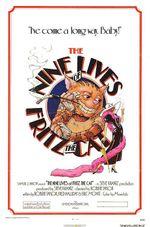 Affiche Les Neuf Vies de Fritz le Chat