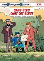Couverture Sang bleu chez les Bleus - Les Tuniques bleues, tome 53