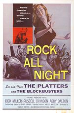 Affiche Rock all night