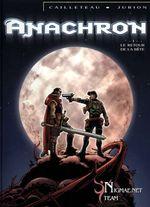 Couverture Le Retour de la bête - Anachron, tome 1