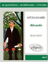 Couverture Apollinaire, Alcools