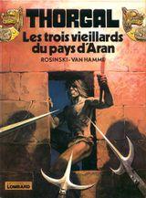 Couverture Les Trois Vieillards du pays d'Aran - Thorgal, tome 3