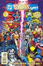 Couverture DC versus Marvel