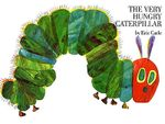 Couverture The very hungry caterpillar