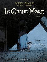 Couverture Blanche - Le Grand Mort, tome 3