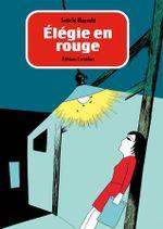 Couverture Elégie en rouge