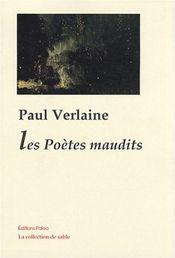 Couverture Les poètes maudits