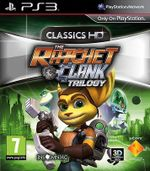 Jaquette The Ratchet & Clank Trilogy