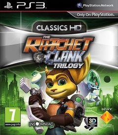 Jaquette The Ratchet & Clank Trilogy