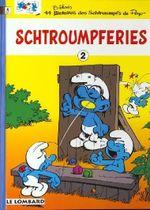 Couverture Schtroumpferies, tome 2