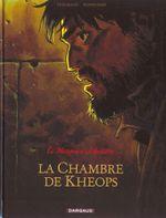 Couverture La Chambre de Khéops - Le Marquis d'Anaon, tome 5