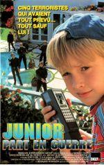 Affiche Junior part en guerre